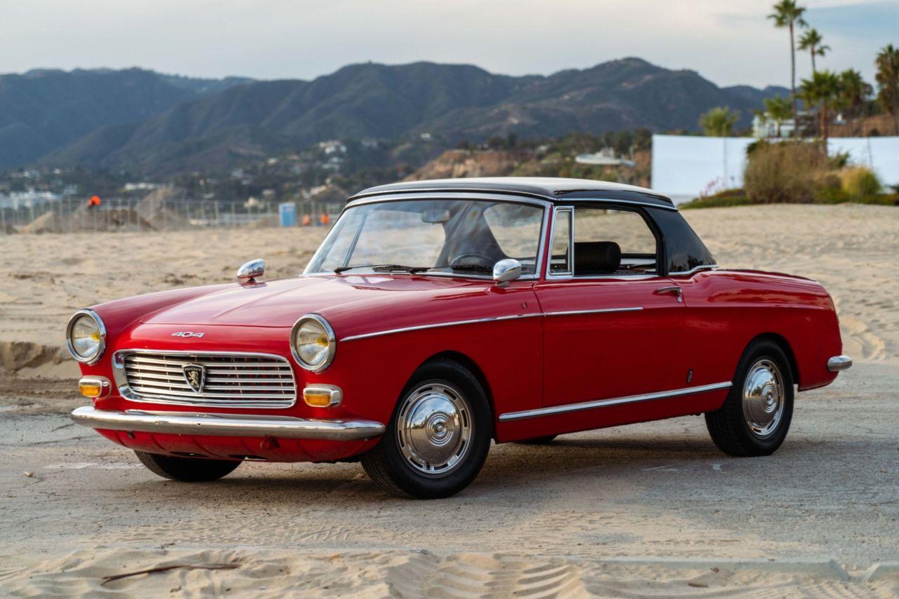 Peugeot 404 Cabriolet 1964 en M10 - Peugeot 2002 ou BMW 404 ?! 3