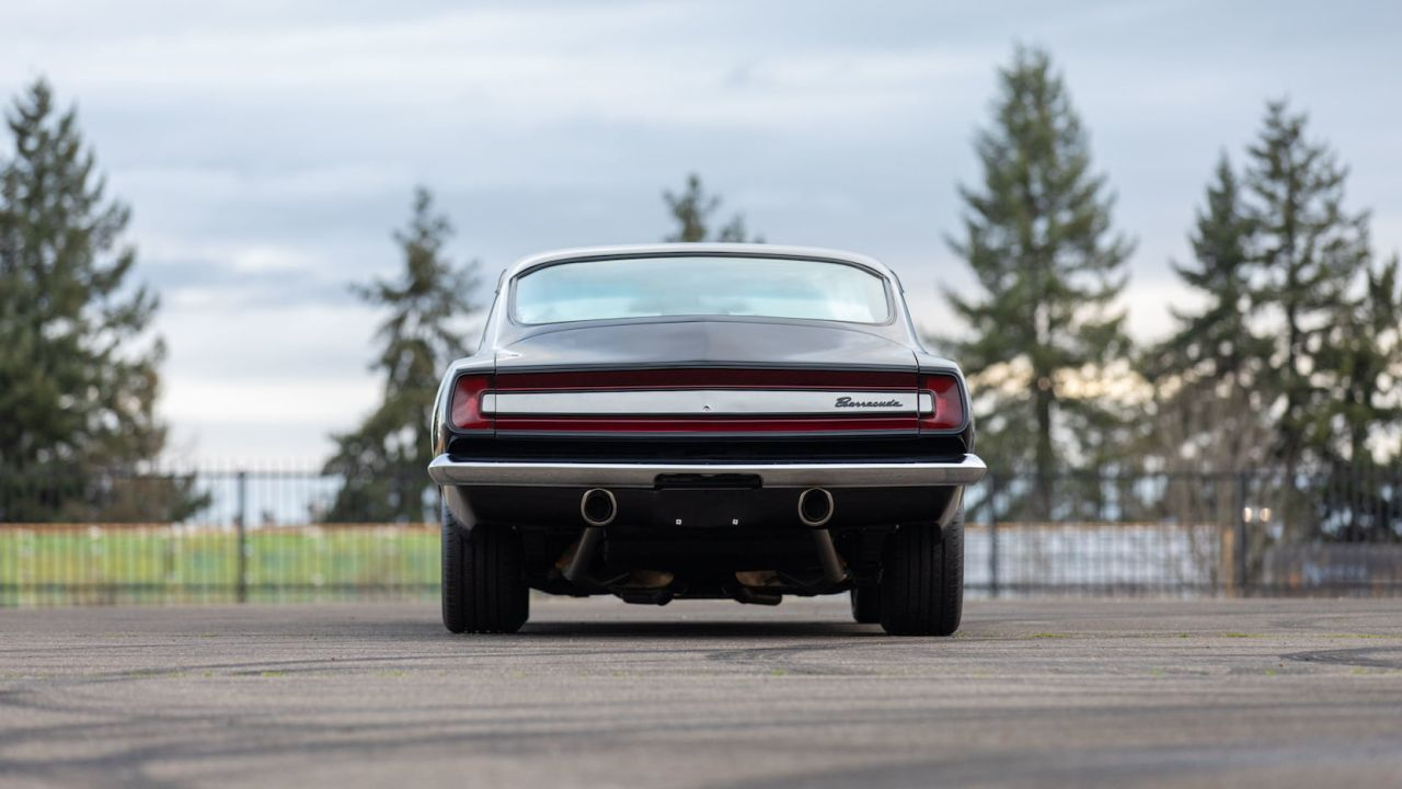 '67 Plymouth Barracuda - Celle qui m'a fait comprendre ! 3