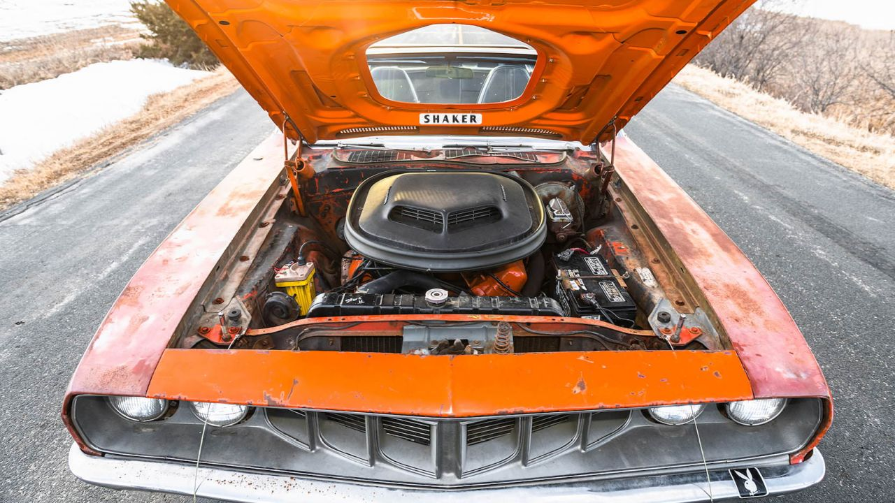 Plymouth 'Cuda Convertible 1971 - 7.2l sortis de container ! 3