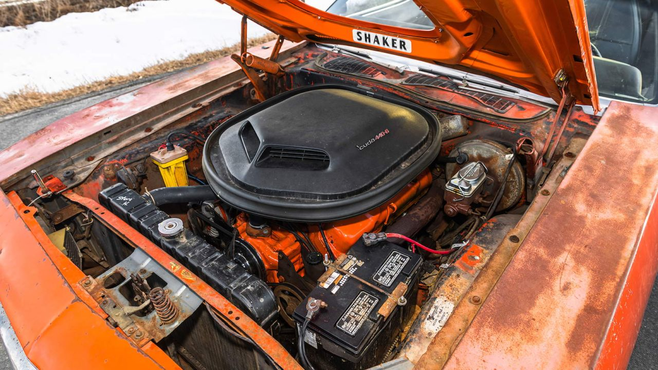 Plymouth 'Cuda Convertible 1971 - 7.2l sortis de container ! 6