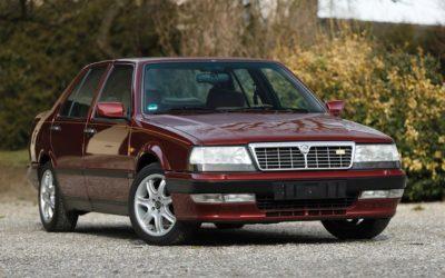 Lancia Thema 8.32 de 1991 – Costard, champagne… Et frustration !
