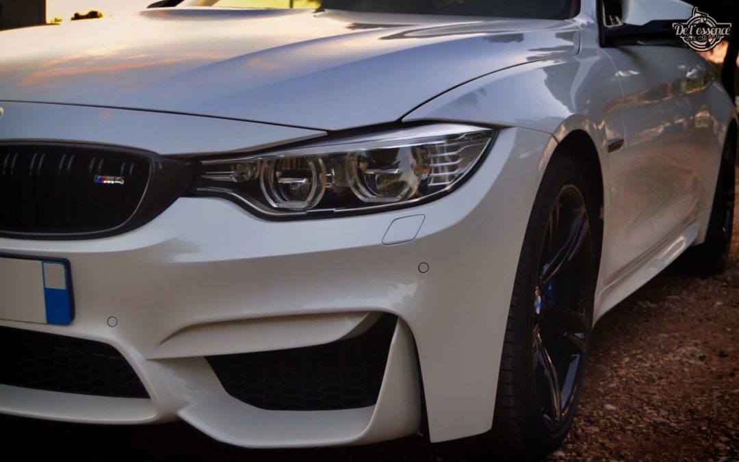 BMW M4 de 580 ch… Stage 3 et Pop & Bang !