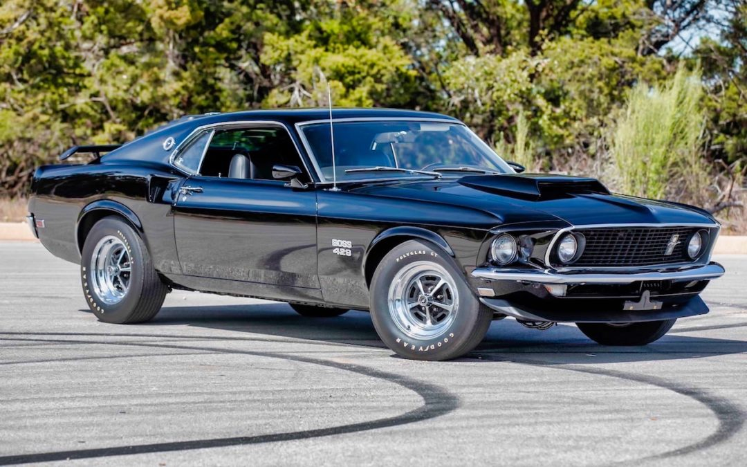 '69 Ford Mustang Boss 429 Fastback… Paul Walker roulait aussi en ricaine !