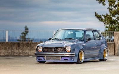 '78 Honda Civic Mk1 – D16 Turbo ! Super sushi…