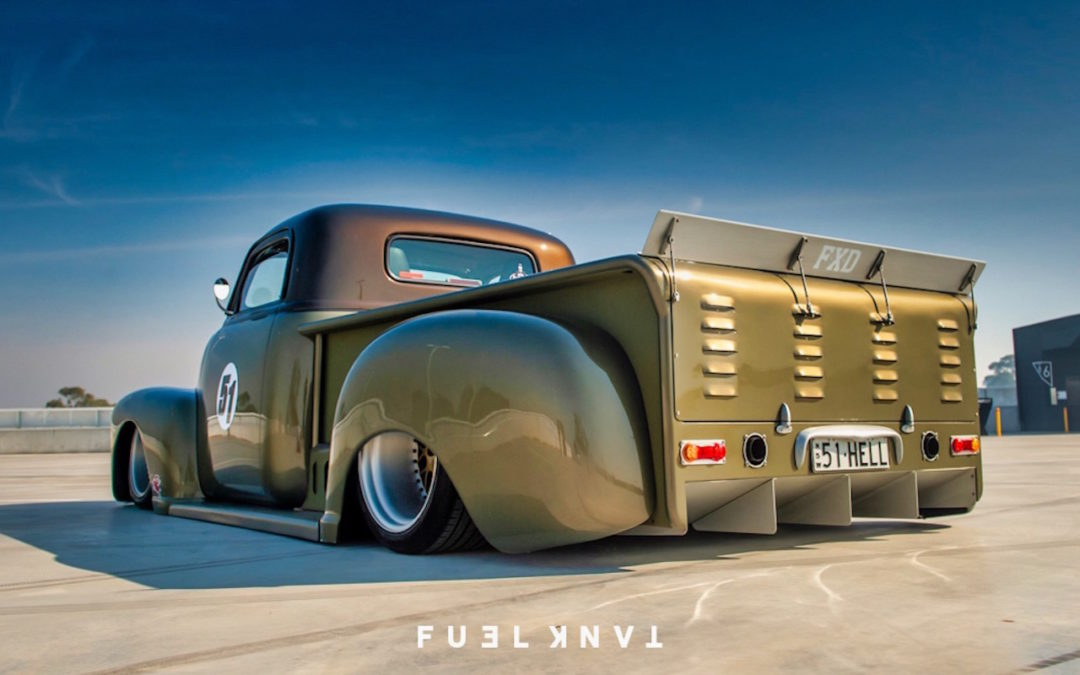 '51 Chevy Pickup… Highway to hell !