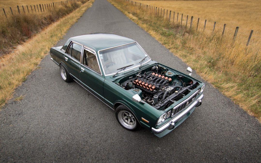 '79 Toyota Corona Mark II V12… Go kiwi go !