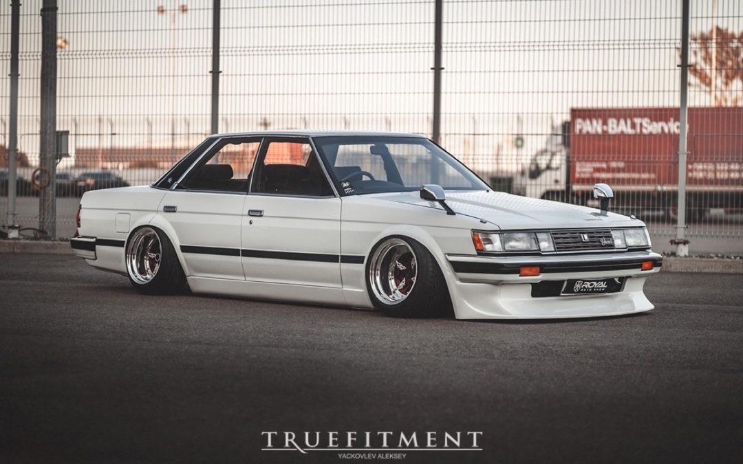 Bagged Toyota Mark II – Tsar Japonaise !