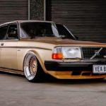 '82 Slammed Volvo 244 GLE... Best in Show !