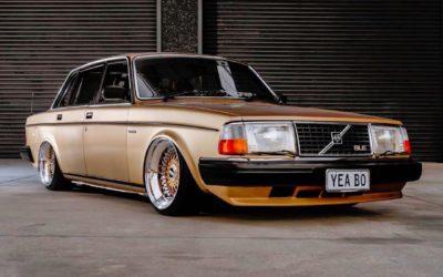 '82 Slammed Volvo 244 GLE… Best in Show !