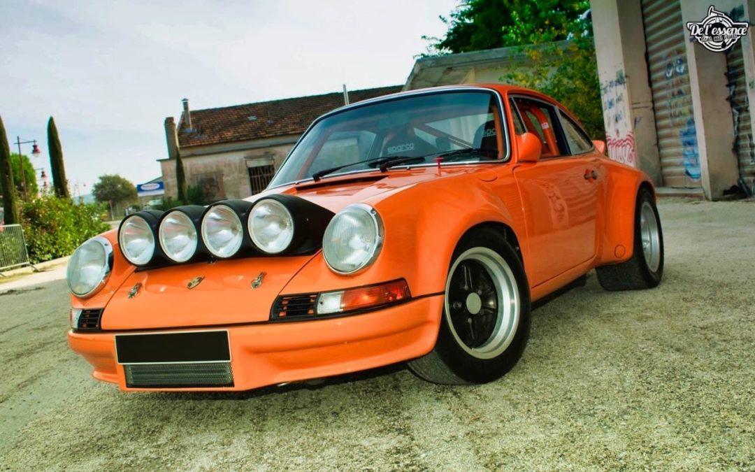 '72 Porsche 911 2.4 passée en mode RSR… C'est bon, c'est bio !