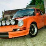 '72 Porsche 911 2.4 passée en mode RSR... C'est bon, c'est bio !