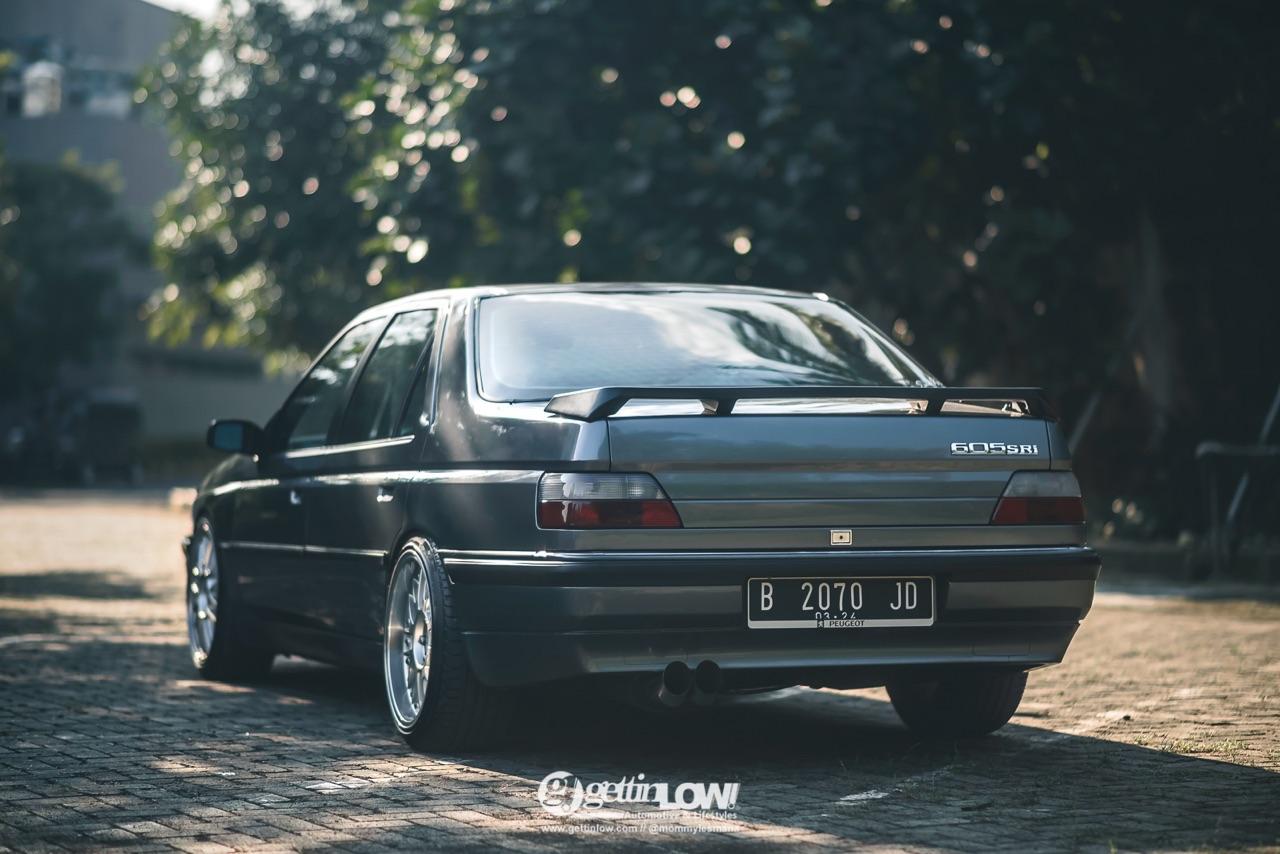 Slammed '93 Peugeot 605 SRi - N'écoute jamais les autres ! 38