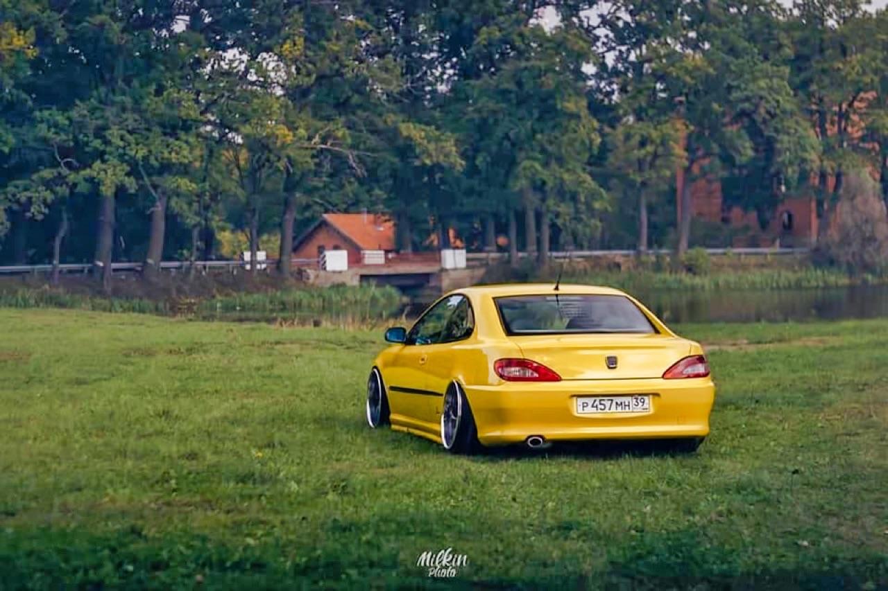 Peugeot coupé 406 V6... Elle manque pas d'air ! 7