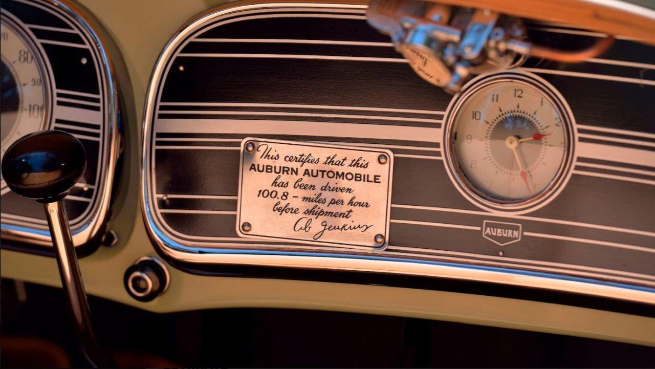 Auburn 851 SC Boattail Speedster de 1935 - Avec un nom pareil... 25
