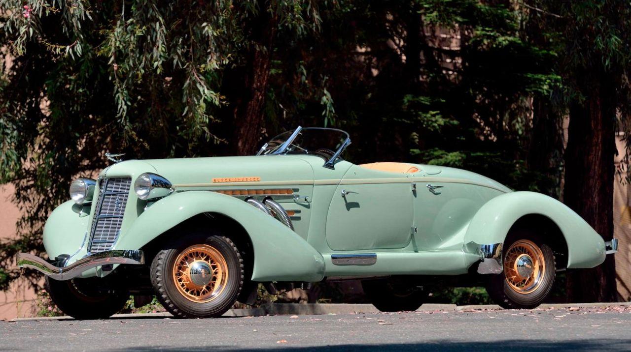 Auburn 851 SC Boattail Speedster de 1935 - Avec un nom pareil... 9