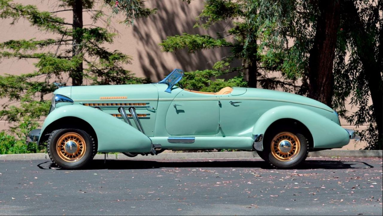 Auburn 851 SC Boattail Speedster de 1935 - Avec un nom pareil... 21