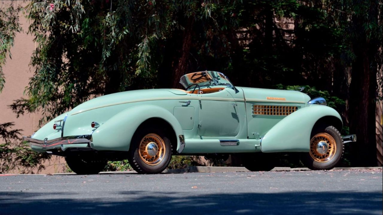 Auburn 851 SC Boattail Speedster de 1935 - Avec un nom pareil... 5