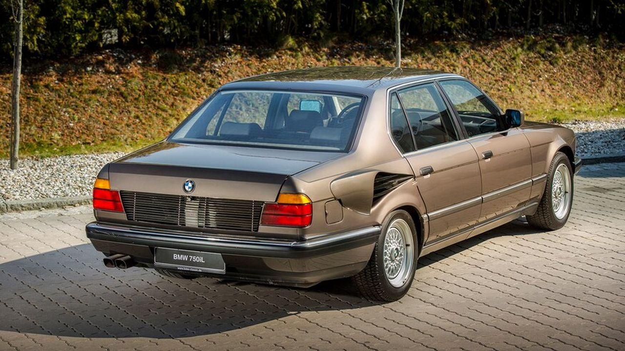 BMW 750iL V16 de 1987 - Une mémoire de poisson rouge ! 30