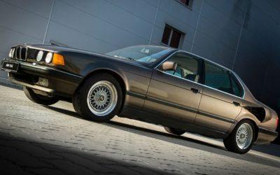 BMW 750iL V16 de 1987 – Une mémoire de poisson rouge !