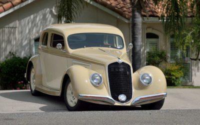 '38 Alfa Romeo Custom Coupé – Hot Rod à l'Italienne…