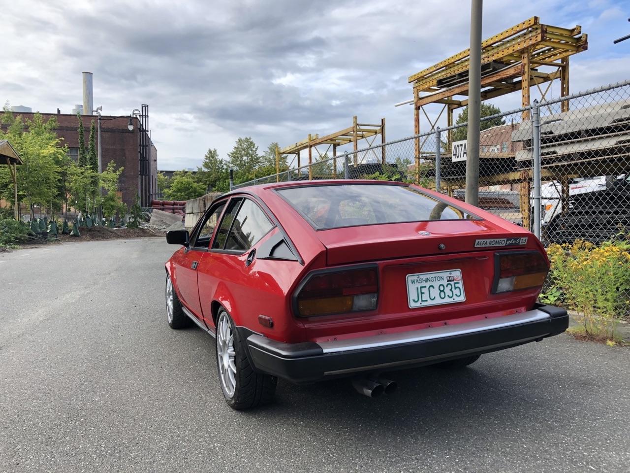 '81 Alfa GTV6 - Alfetta pas semblant ! 4