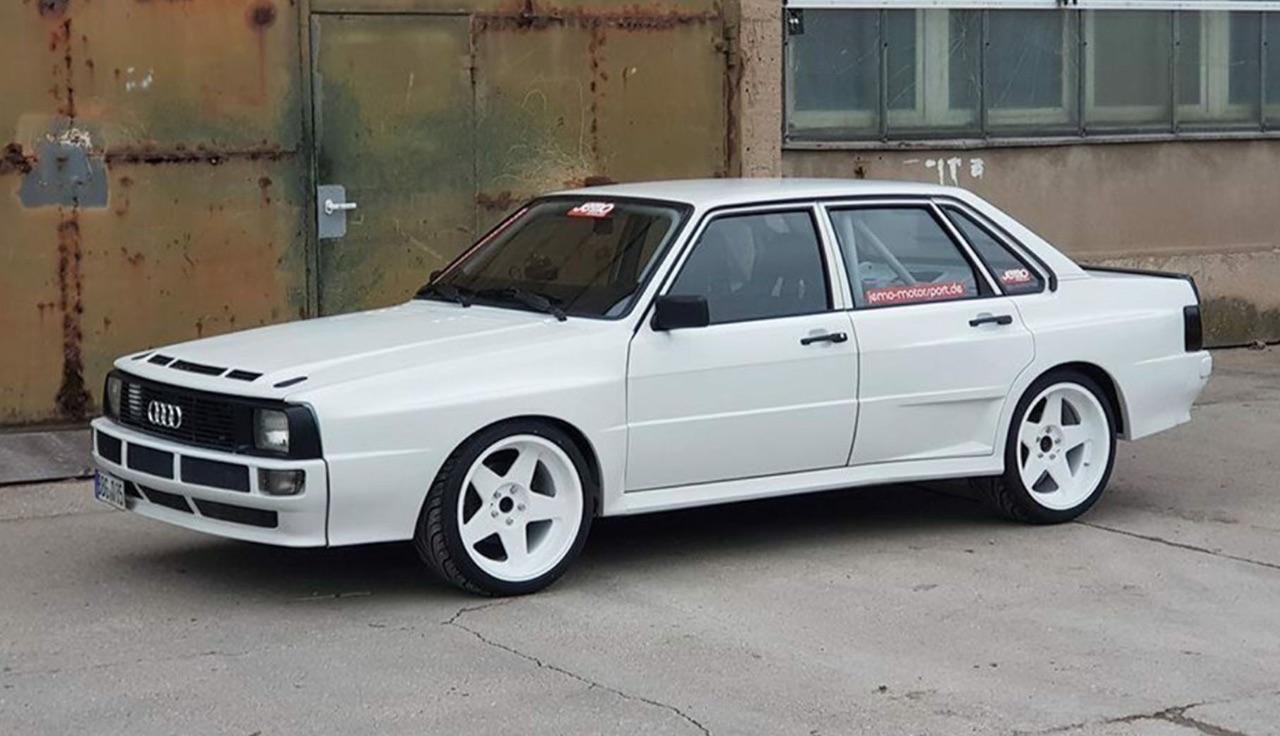 Audi Sport Quattro - Plus de 1100 ch pour une Gr.B...erline ! 1