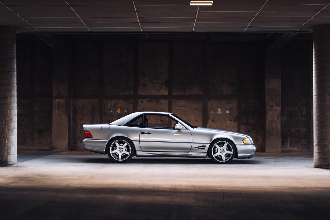 '98 Mercedes SL600... Mais appelez la RENNtech SL74 ! 8