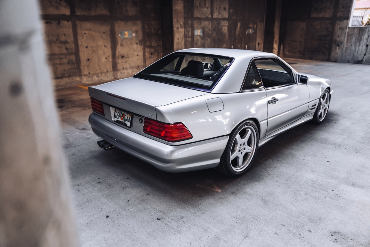 '98 Mercedes SL600... Mais appelez la RENNtech SL74 ! 10