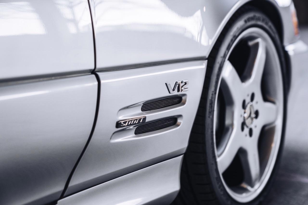'98 Mercedes SL600... Mais appelez la RENNtech SL74 ! 19