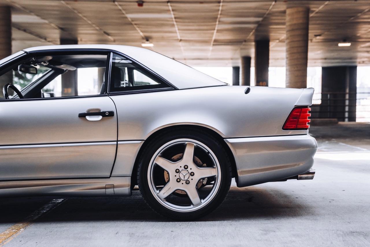 '98 Mercedes SL600... Mais appelez la RENNtech SL74 ! 7