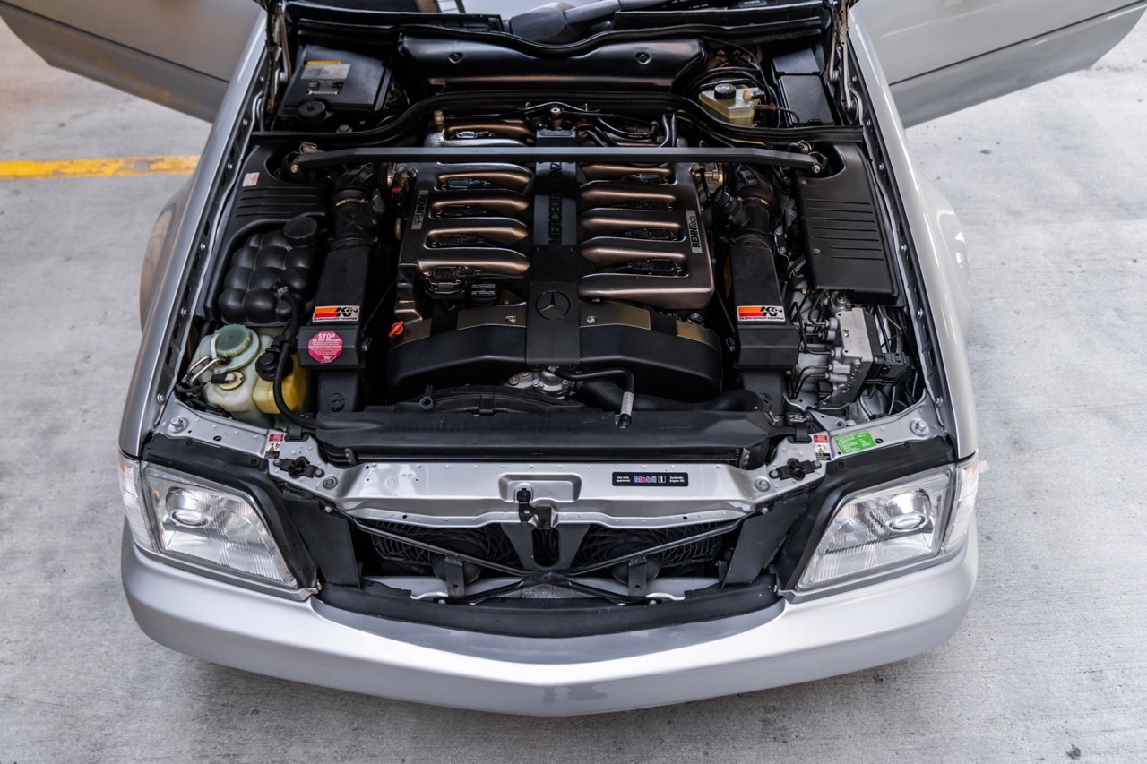 '98 Mercedes SL600... Mais appelez la RENNtech SL74 ! 11