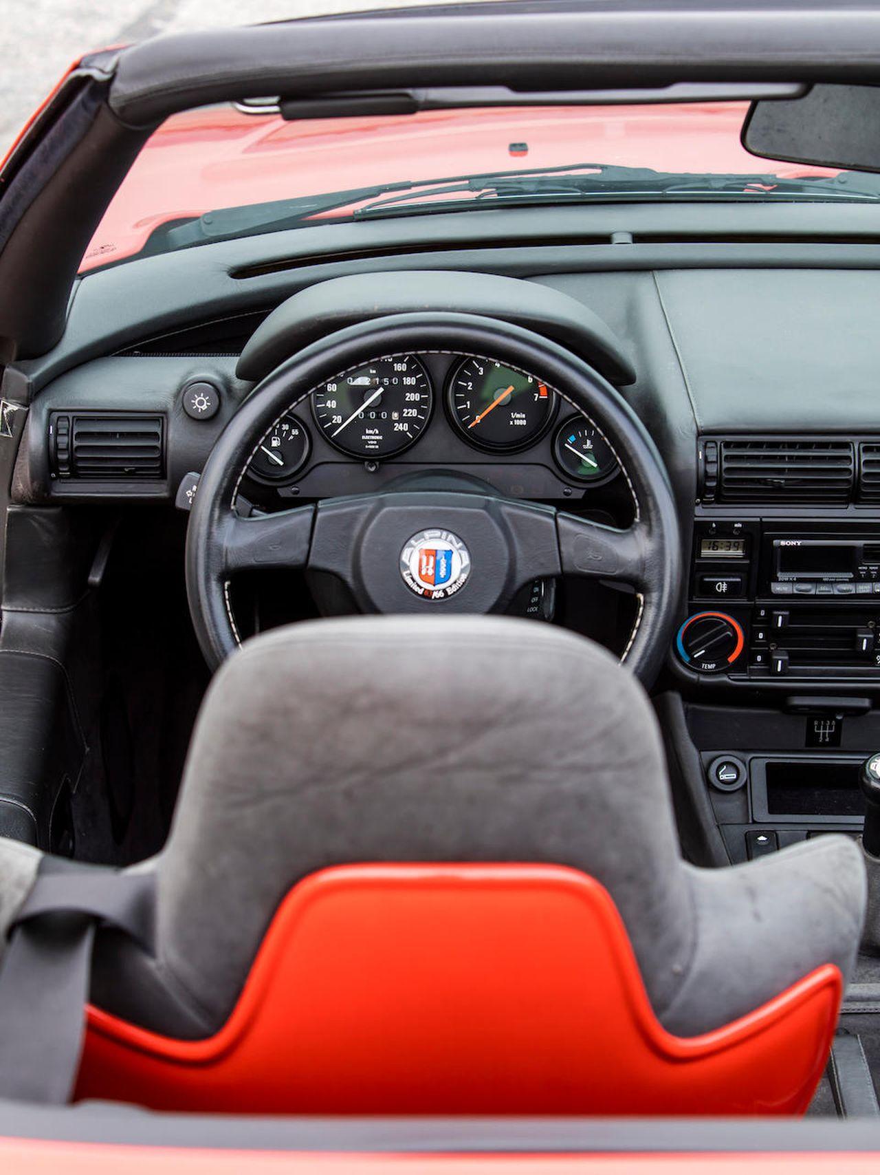 Alpina RLE de 1991 - Quand la BMW Z1 ne suffit plus ! 17