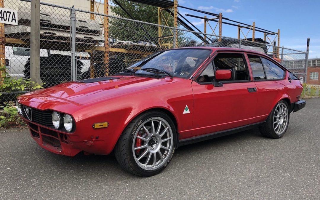 '81 Alfa GTV6 – Alfetta pas semblant !