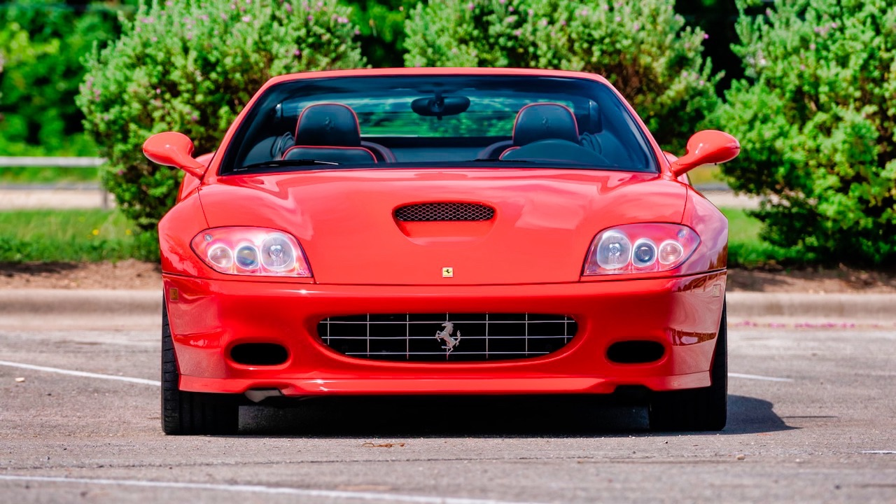 2005 Ferrari 575 Superamerica HGTC - Les ch'veux au vent ! 12