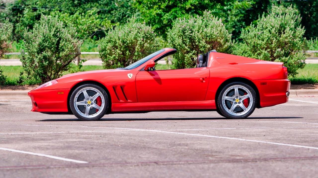 2005 Ferrari 575 Superamerica HGTC - Les ch'veux au vent ! 9