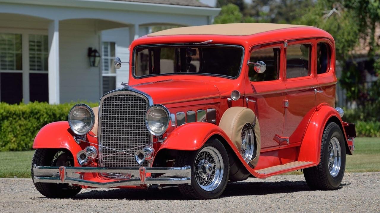 '31 Hudson Eight Street Rod... Sexy la vieille ! 9