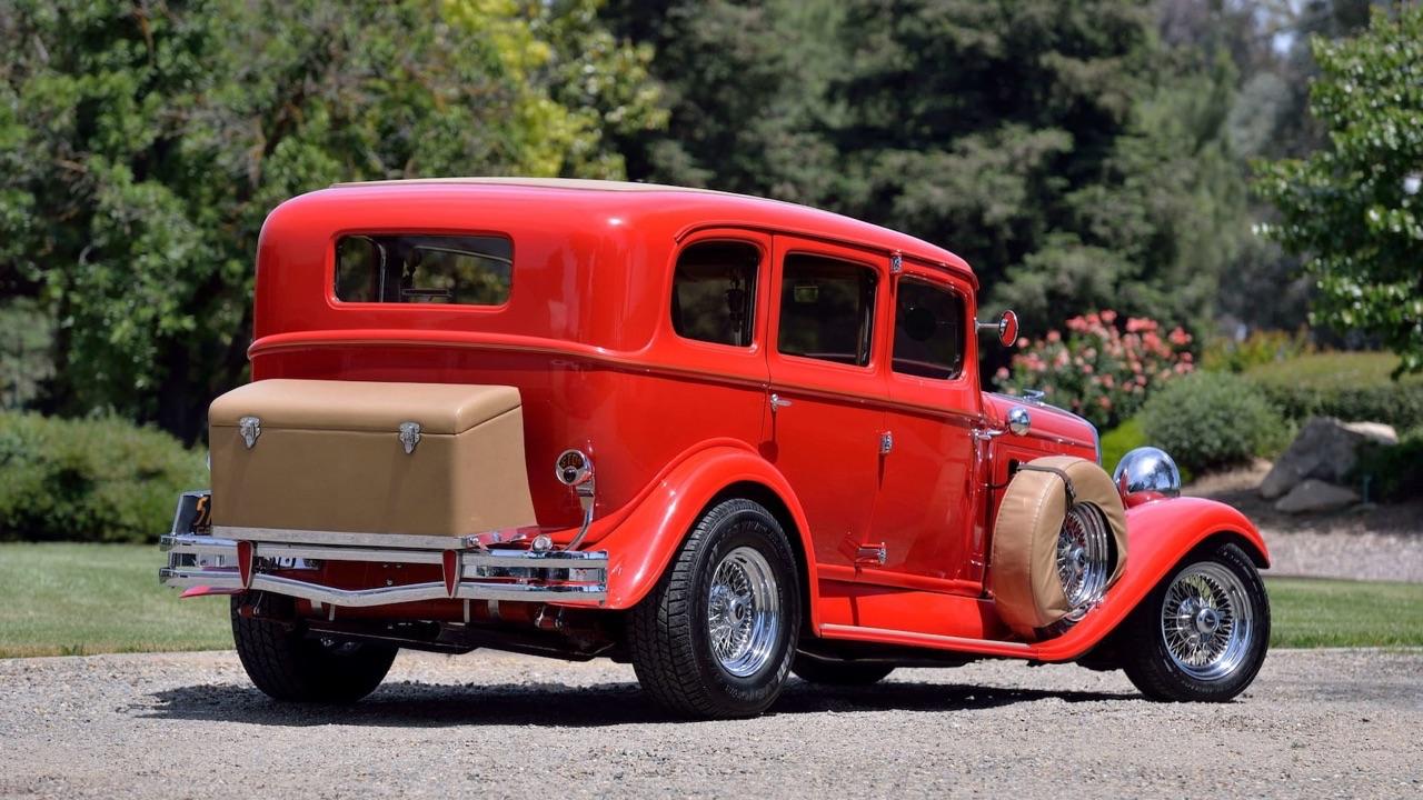 '31 Hudson Eight Street Rod... Sexy la vieille ! 5
