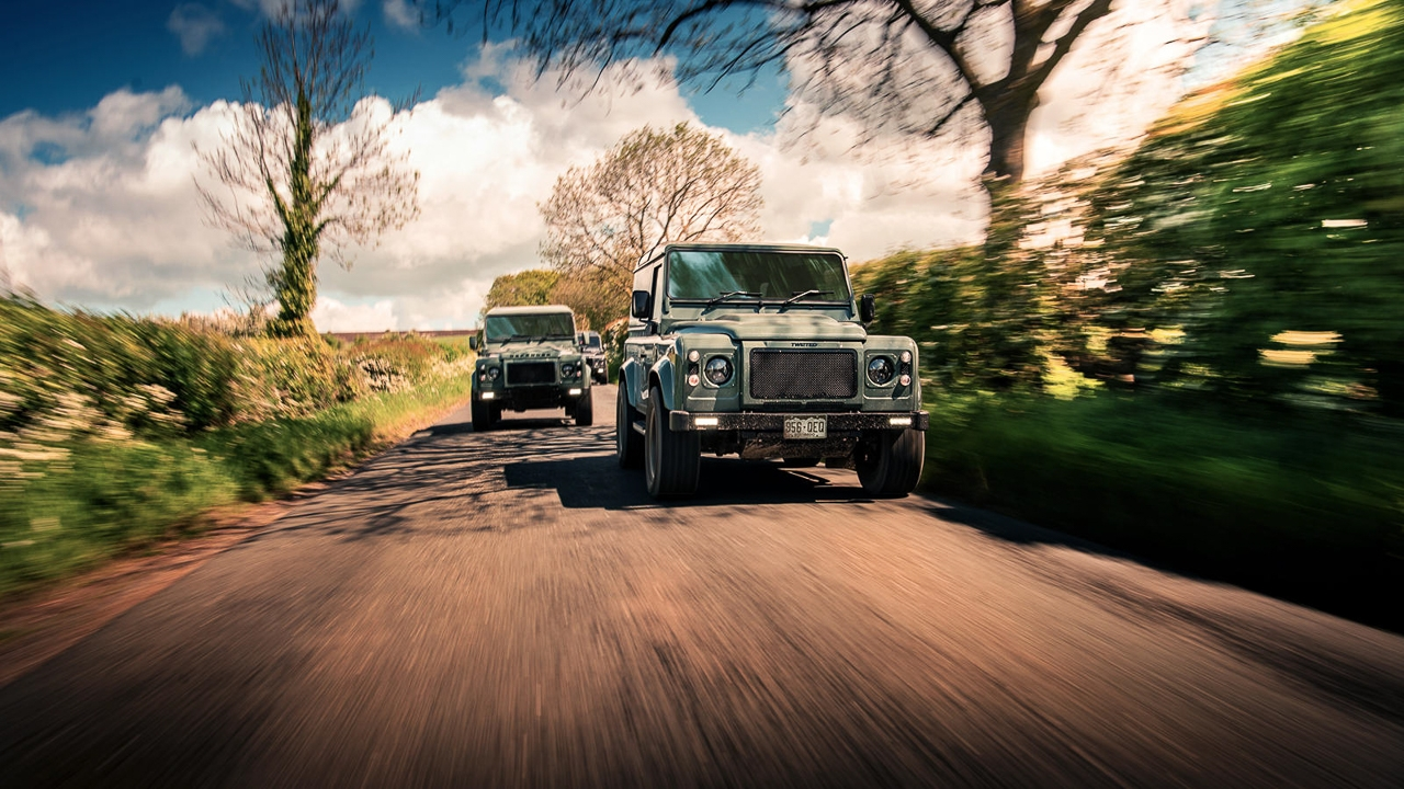 Twisted Land Rover Defender - Un cube de 650 ch 11