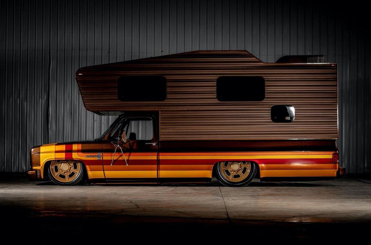 Chevy C30 Camper - Brown Sugar pour les vacances ! 27