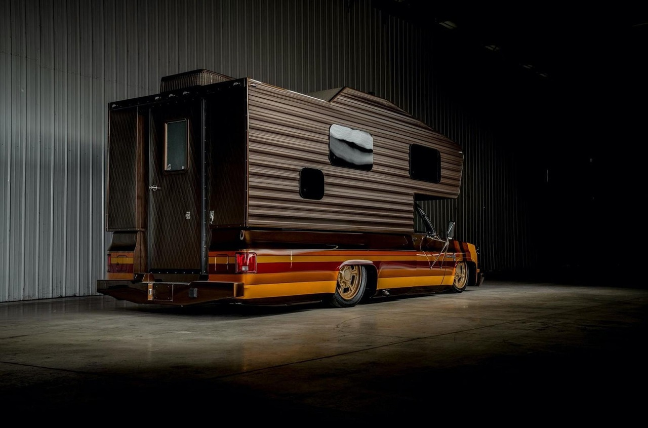 Chevy C30 Camper - Brown Sugar pour les vacances ! 39