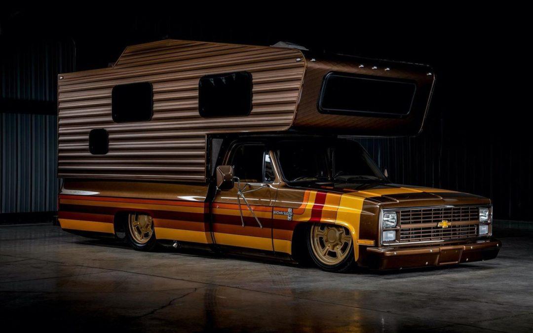Chevy C30 Camper – Brown Sugar pour les vacances !