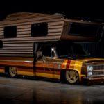 Chevy C30 Camper - Brown Sugar pour les vacances !