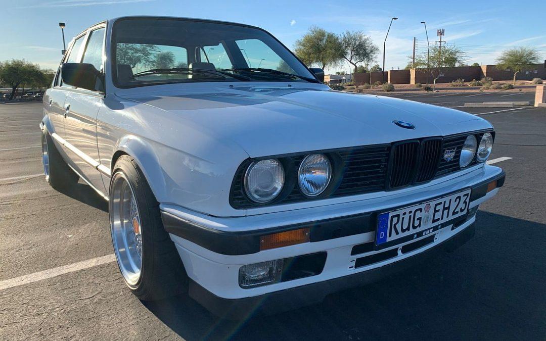 BMW 325i en S62 – Parce que 8, c'est mieux que 6 !
