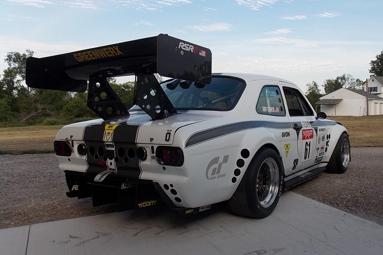 Ford Escort Mk1 : V8 Mystère 2