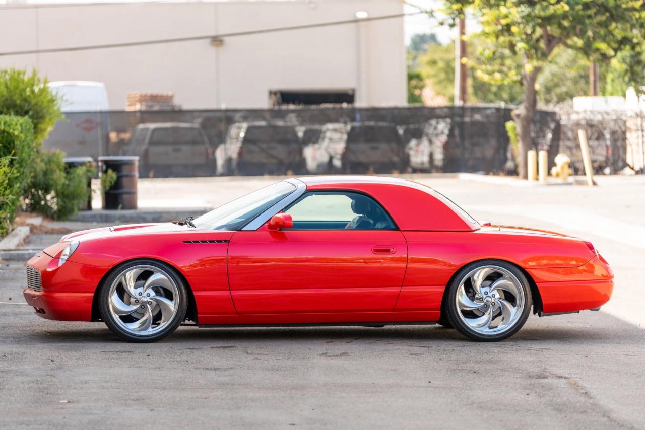 '03 Ford Thunderbird SEMA build: T bird goût mandarine 6