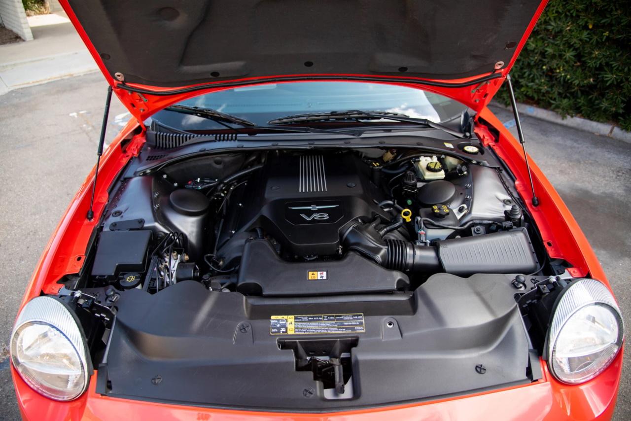 '03 Ford Thunderbird SEMA build: T bird goût mandarine 12