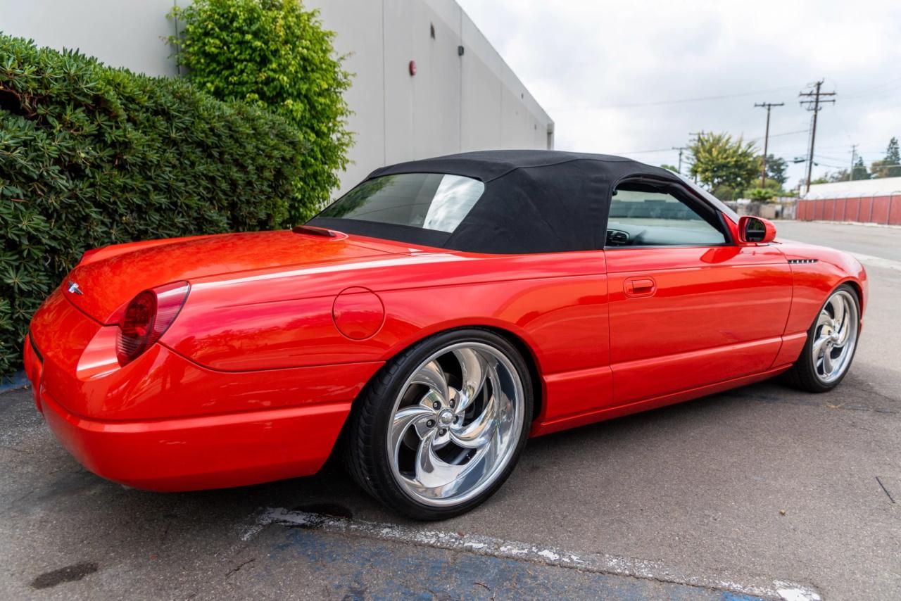 '03 Ford Thunderbird SEMA build: T bird goût mandarine 5