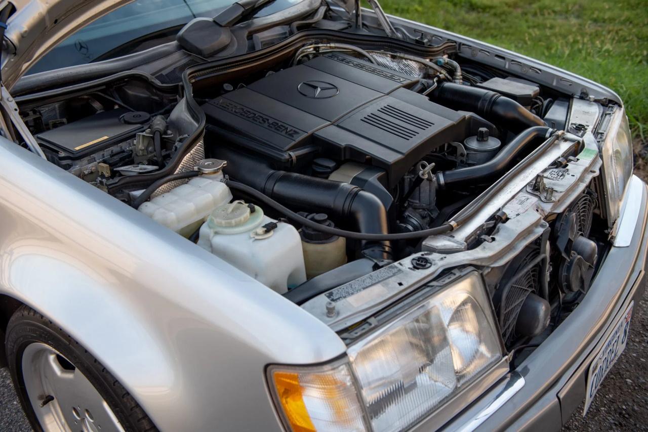 '94 Mercedes E500 RENNtech 6.0 : Vous reprendrez bien un peu de cylindrée ? 10