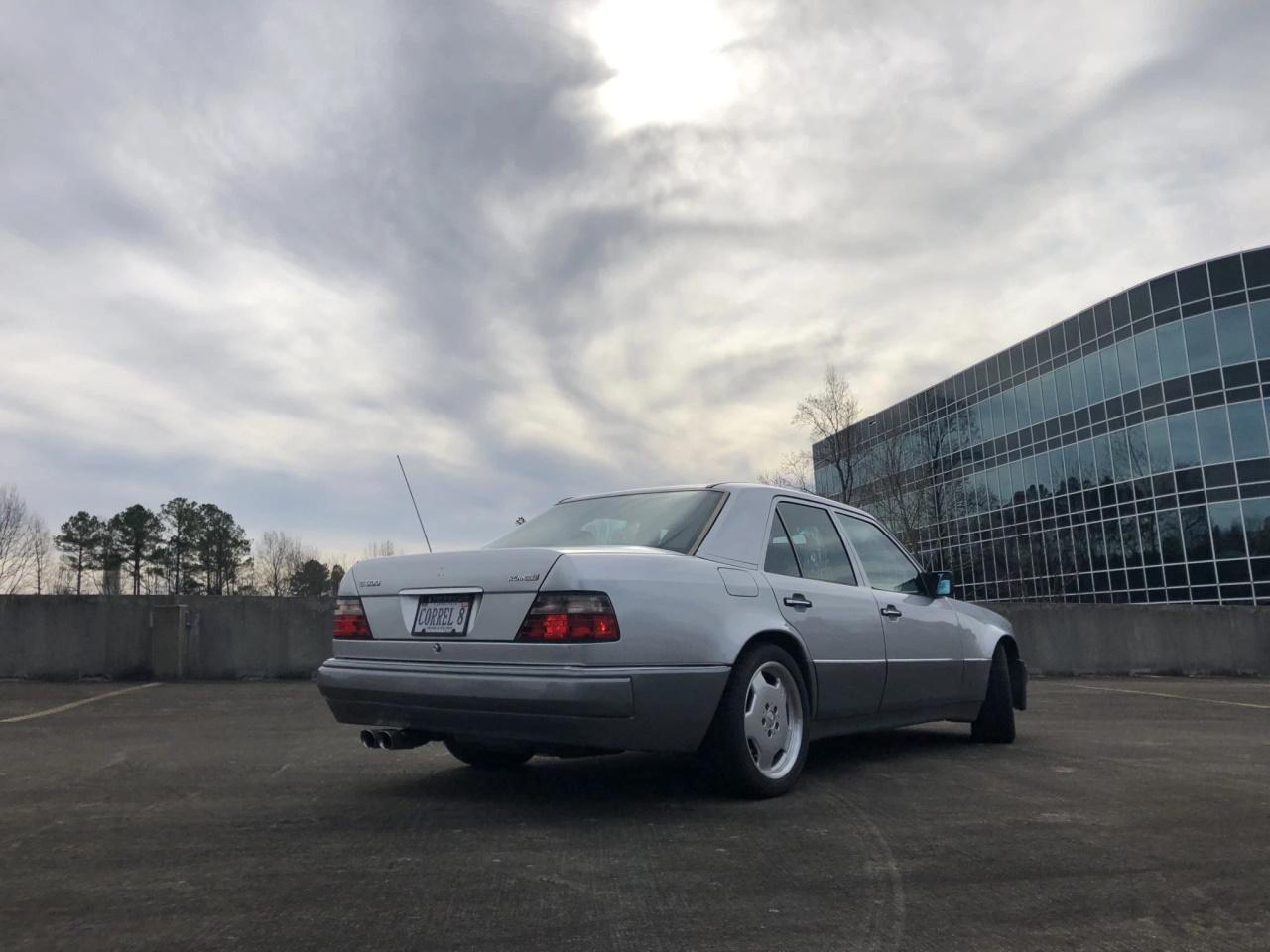 '94 Mercedes E500 RENNtech 6.0 : Vous reprendrez bien un peu de cylindrée ? 6