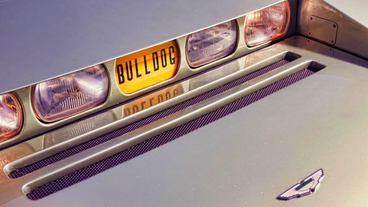 Aston Martin Bulldog : Blade Runner avant l'heure 8